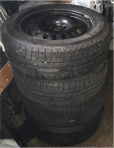 MICHELIN X-ICE  LATITUDE 235/60R17 (Xi2) 102T on Steel Rims