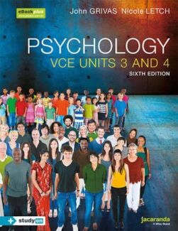 Negotiation 6th edition textbooks gumtree australia free local jacaranda psychology vce units 34 6th edition fandeluxe Image collections