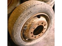 205 x 65 x 17.5 Truck Tyres & Road Wheels x 10 Stud