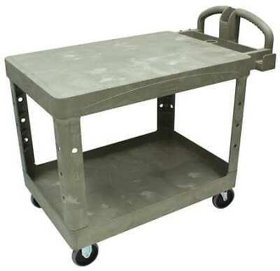 Rubbermaid Fg452500beig High Density Structural Foam Utility Cart With Deep