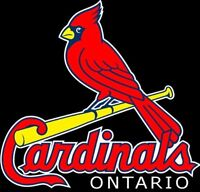 Ontario Cardinals Elite Baseball 2018 Tryouts