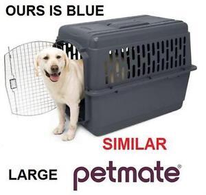 USED PETMATE ASPEN PET PORTER 50-70 LBS - BLUE - PET PORTER - CARRIER 105689930