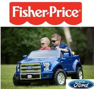 OB FISHER PRICE F-150 12V RIDE-ON CDF53-9665 212956435 BATTERY-POWERED FORD TRUCK CAR POWER WHEELS OPEN BOX