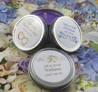 Custom Soy Candle Tins (or Mason Jars)