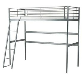 IKEA - Silver Loft bed frame SVÄRTA - Excellent Condition