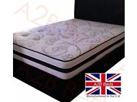 Double Dual Sided Luxury Mayfair Divan Bed + Free Headboard & FREE DELIVERY