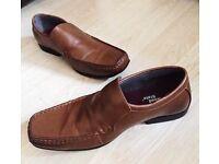 Size 9 Brown Cedar Wood State Formal Footwear