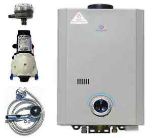 Eccotemp L7 Tankless Water Heater (w/ 12V pump & strainer)