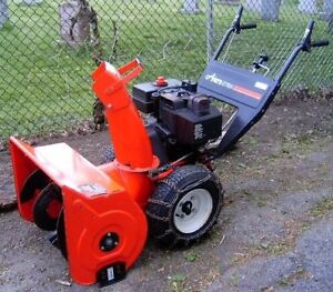 Cash paid for broken snowblowers 8+hp