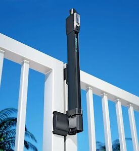 MAGNALATCH Series 3 for fences : Safety gate latch with hinges