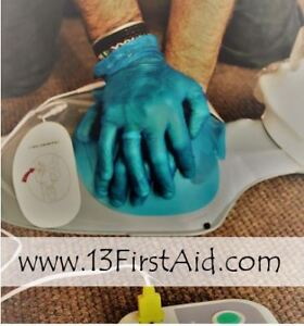 CPR, AED and First Aid Training