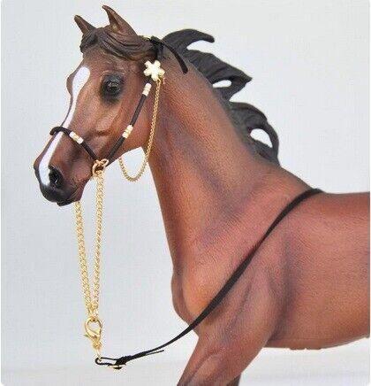 Handmade Arabian Show Halter for 1:12 Classic sized