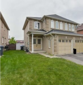 SemiDetach entire house rent Chinguacousy&Bovaird Brampton