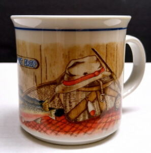New collectible Otagiri Fishing Bait Shop coffee mug