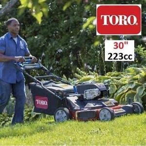 "NEW TORO 30"" TIMEMASTER LAWNMOWER 21199 196717185 SELF-PROPELLED LAWN MOWER BRIGGS STRATTON PERSONAL PACE GAS"