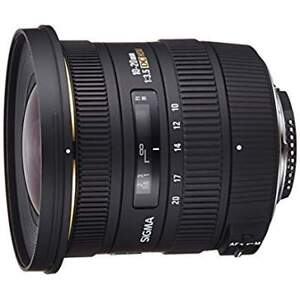 Sigma 10-20mm f/3.5 (Mint) Nikon mount