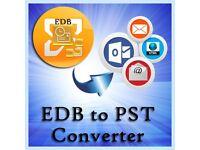 Free EDB to PST Converter Software to Convert EDB to PST
