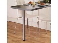 Howdens breakfast bar table support legs x2