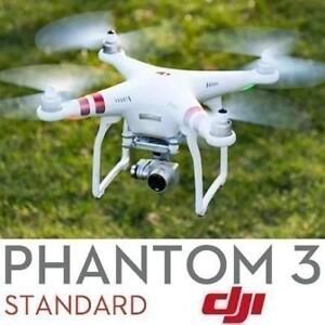 REFURB PHANTOM 3 QUADCOPTER DRONE CP.PT.000455 199270802 STANDARD DJI PHANTOM REFURBISHED