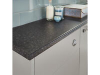 Howdens 600mm kitchen or vanity unit worktop slate **new**