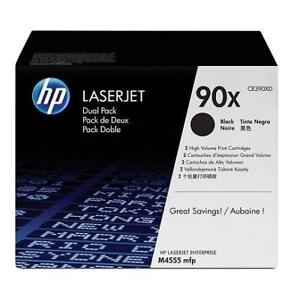 NEW HP 90X TONER CARTRIDGE 2 PACK CE390XD 202018770 PRINTER SUPPLIES