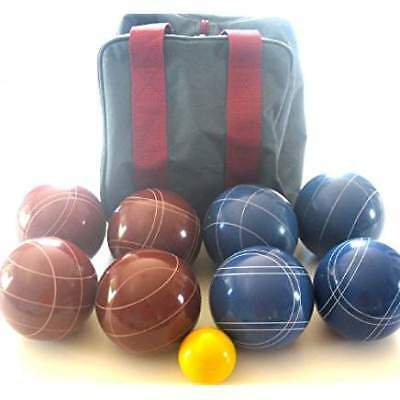 Epco Premium Quality Engraved Bocce set -110mm Red and Blue Balls