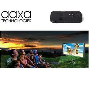 NEW AAXA PICO POCKET PROJECTOR WITH 65 LUMENS - 120+ MINUTE BATTERY LIFE - MINI HDMI 101422013