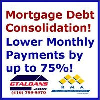 Drop payments and get cash! Debt consolidation mortgage.