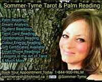 Sommer-Tyme Tarot and Palm Reading