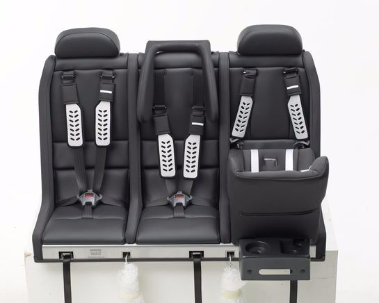 Multimac 1000 3 seater child car seat (with baby seat and ...