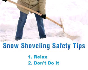 SNOW REMOVAL / ROOFTOP SNOW REMOVAL SERVICE CALL OR TEXT TODAY