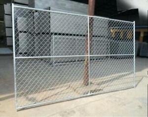 Temporary Fence Panels 6'x10' - Construction Steel Fast Fence