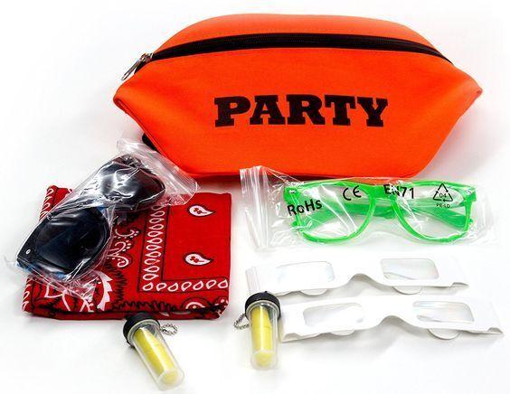 Neon Fanny Pack Kit  *PARTY* Rave, Club, Festival, Theme Par