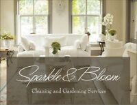 Hiring CLEANERS to be part of the Sparkle & Bloom team!
