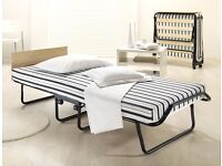 Very comfortable, brand new double airflow folding bed by Jay-Be