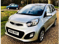 Stunning 2011 KIA PICANTO 1 1.0, Long MOT-No Advisories, ZERO Road Tax, ONLY 2K Mileage
