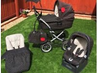 Baby pram, Car Seat, Buggy, High Chair Travel System Mamas & Papas