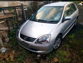 BREAKING SPARES HONDA CIVIC 1.7 CDTI EP2 EP3