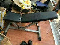 Used fitness bench by KETTLER