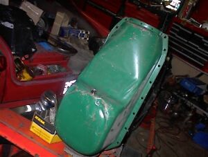 NICE USED49-56 OLDS ROCKET V8 CLEANED  AND PAINTED OIL PAN $85.0