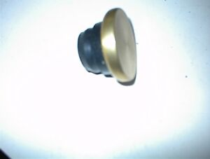 NEW GOLD ALUMINUM/RUBBER VLVE COVER OIL FILLER PLUG $7.00