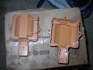 3 NEW BROWN HI PERF,HEI DIST COIL COVERS 73-86 GMS $5.00 EACH