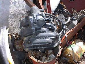 USED ABS INTAKE MANIFOLR  &THROTTLE BODY FROM OHC V6 ALUM