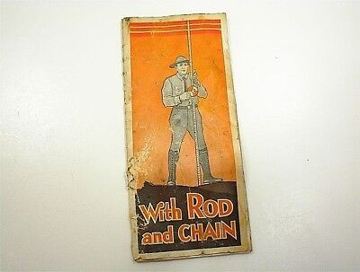 Vintage Surveyor With Rod And Chain Booklet Book Chicago Steel Tape Co Equipment