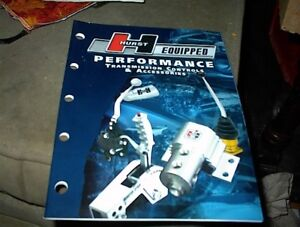 NICE NEW 2004 HURST SHIFTER CATALOGUE WITH ALL PARTS.$5.00