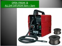 Sealey MIGHTYMIG100 Pro No-gas Mig Welder 100A 240v + Flux Wire