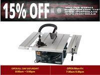 DRAPER 82570 250MM 1800W 230V EXTENDING TABLE SAW
