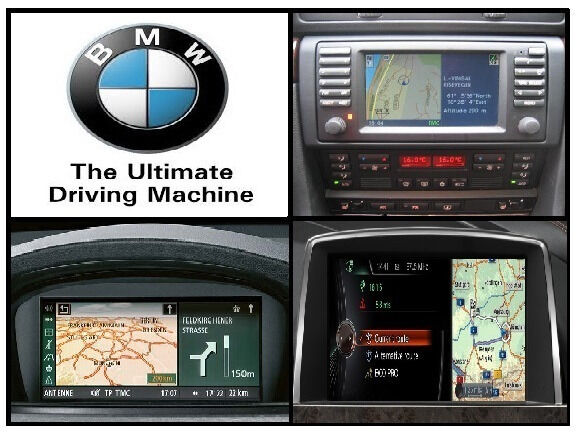 Bmw Satellite Navigation Map Updates All Models In Temple