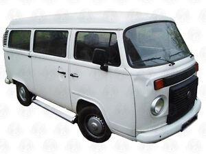 Deluxe-Aluminium-Side-Step-4-VW-T2-Brazilian-Bus-complete-fitting-kit-no-drill