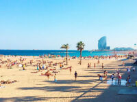 Return Flights From Newcastle to Barcelona in the School Holidays - 1 Week Stay, 3 adults and 2 kids